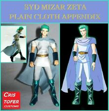 SYD MIZAR ZETA PLAIN CLOTH APPENDIX, SAINT SEIYA MYTH CLOTH ropa de calle civil