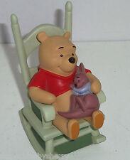 Disney Winnie Pooh Roo Figurine Sweet Dreams Little One Baby Rocking Chair