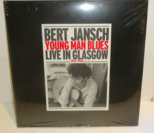 BERT JANSCH YOUNG MAN BLUES LIVE IN GLASGOW 1962-1964 LIMITED 2-LP NEW/SEALED