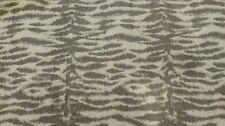 "3 yards gray Zebra Print Fabric  54"" wide Upholstery Home Decor Crafting"
