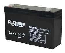 6V 12AH SLA Batteries X 10 (6 Volt 12AH)