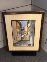 """Watercolor on art paper Signed Mystery Artist  done in 1998 12""""x9"""""""