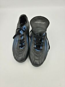 Brine Soccer Cleats Black Blue Size 7.5