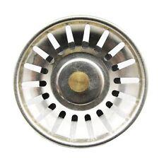 Kitchen Stainless Steel Sink Waste Strainer Plug Drain Stopper Basket Filter