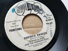"JOHNNIE & WIGG Harmony Boys - RARE 1966 OHIO HILLBILLY COUNTRY Echo Records 7"""