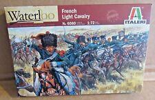 ITALERI FRENCH LIGHT CAVALRY WATERLOO 1:72 SCALE MODEL SOLDIERS NAPOLEONIC HORSE