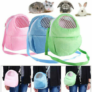 Pet Carrier Sleep Carry Bag Warm Breathable Cage Squirrel Chinchilla Guinea Pig