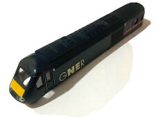 More details for hornby class 43 hst 125 gner no. 43117 body shell with front & rear glazing.