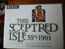 10 AUDIO CASSETTES - This Sceptred Isle by Christopher Lee (1999)