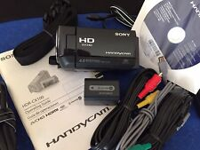 Sony Hdr-Cx100 High Def Hd Camcorder+2 Batteries + Charger+ Case+All Accessories