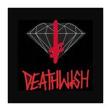"Diamond Supply Co Diamond X Deathwish Sign Skateboard Sticker 3"""