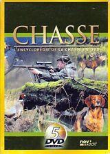 COFFRET 5 DVD L'ENCYCLOPEDIE DE LA CHASSE