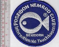 SCUBA Diving Germany Poseidon Nemrod Club Internationale Tauchbassen 4 in diam