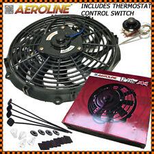 """12 """"AEROLINE HIGH POWER 220W Radiatore Elettrico Ventola Di Raffreddamento TERMOSTATO + CONTROLLO"""