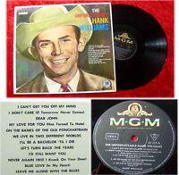LP Hank Williams The Unforgettable alte deutsche MGM Pr