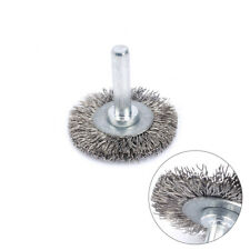 5Pcs 38mm Stainless Steel Wire Wheel Brush For Metal Surface Rust Removal Tool
