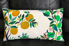 New, Schumacher - Citrus Garden Outdoor Throw Pillow.