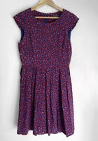MARCS divine A Line Printed Silk Dress Size 10