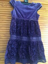 Mothercare 4-5 ans robe violette