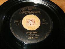 BRENDA LEE - IF YOU DON'T - RUSTY BELLS   / LISTEN