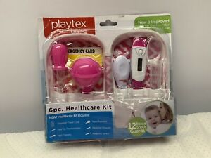 Baby Healthcare Kit With Flex Tip Thermometer Playtex 6pc. PINK