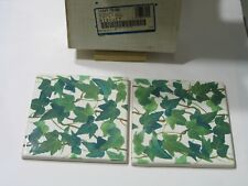 "Vintage Kohler Reveries, Rustic Country Peonies Ivy 14207-PS-96   6""x6"" Tiles"