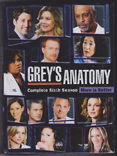 Greys Anatomy: The Complete Sixth Season (DVD, 2010, 6-Disc Set)