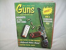 GUNS 2/1969~VIET CONG ROCKETS~T/C 45-410 CONTENDER~GUN CONTROL~STEVENS BISLEY