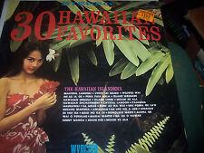 Hawaiian Islanders, The - 30 Hawaiian Favorites Stereo SW-9109 Wyncote sealed
