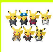 Pikachu Figure Pokemon center Boss Ultra Sun & Moon Japan gacha gasha all 7
