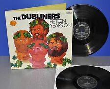 The Dubliners Fifteen Years on D '77 Intercord 1st 2 LP FOC VG++/M- Vinyl clean