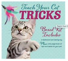 New Sealed Teach Your Cat Tricks Boxed Kit kitty toys barnes & noble 24.00