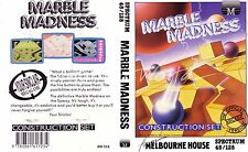 Marble Madness (Melbourne House 1986) Spectrum 48k Game - VGC & Complete <MQ>