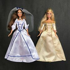 Erika Anneliese Barbie Doll Wedding Princess and the Pauper Singing Works Lot 2