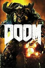 Doom Cyber Demon Gaming Maxi Poster Print 61x91.5cm | 24x36 inches