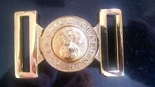 Grenadier Guards Buff Belt Solid Brass Buckle. New