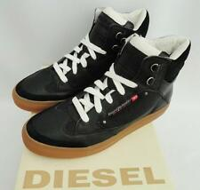 Diesel 100% Leather Hi Tops Trainers for Men