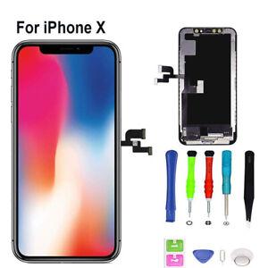 Pantalla-Completa-para-iPhone-X-Negra-5-8-LCD-Tactil-Digitalizador-Negro