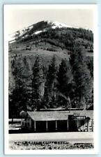 RPPC  MILL CREEK, California CA ~ DEER CREEK COFFEE SHOP c1940s Eastman Postcard