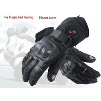 Unisex Motorbike Motorcycle Electric Heated Gloves 3 Temperature Levels Gloves