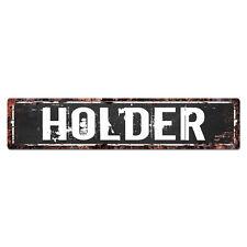 SLND0978 HOLDER MAN CAVE Street Chic Sign Home man cave Decor Gift Ideas
