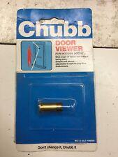 Chubb Security Brass Gilt Door Viewer  25-59mm WS13 NOS