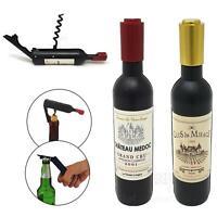 2 Function Beer Bottle Opener Wine Cork Screw Fridge Magnet Bar Kitchen Tool