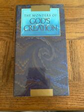 The Wonders Of Gods Creation VHS