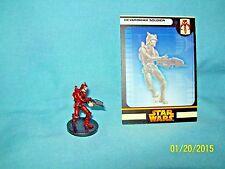 WotC Star Wars Miniatures Devaronian Soldier, RotS 44/60, Fringe, Common