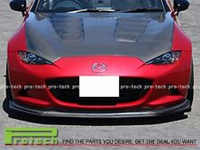2016+ Mazda MX-5 Miata ND CS TYPE CARBON FIBER Front Bumper Lip