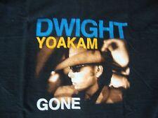 Vintage 90's DWIGHT YOAKAM 1996 Concert Tour T Shirt Men's Size L