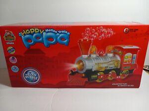 Happy Papa Motion Battery Operated Bubble Train New