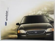 FORD WINDSTAR 1999 dealer brochure - English - US Market