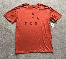"Altamont ""coordinada"" Camiseta. Talla S (36""). Naranja. 100% algodón. RRP £ 25"